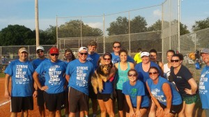Baldwin Krystyn Sherman Partners Colleague kickball team