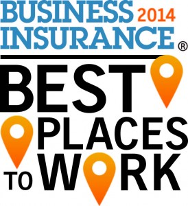Business Insurance 2014 Best Places to Work