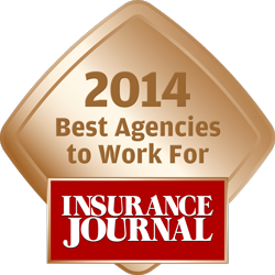 2014 Insurance Journal Best Agencies to Work For