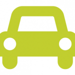 seedling green sedan icon