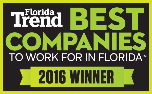Florida Trend Best Companies to work for in Florida 2016