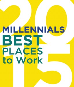 2015 Best Places for Millennials to work award
