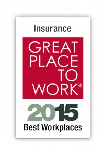 Great Place to Work 2015 Award
