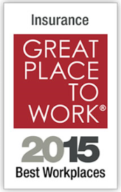 Great Place to Work award, 2015