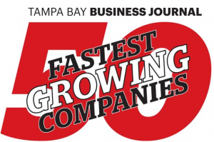 Tampa Bay Business Journal 50 Fastest Growing Companies