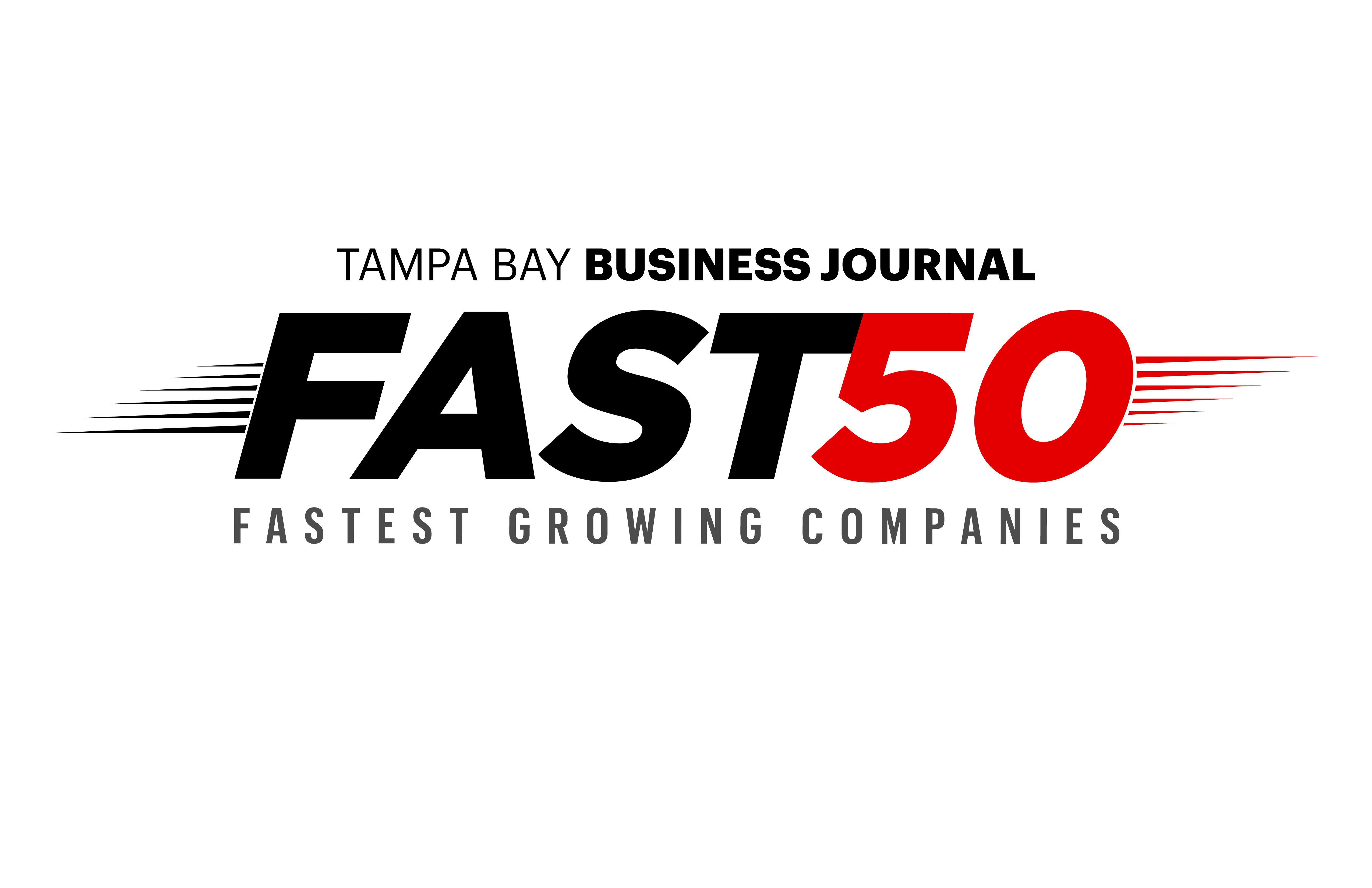 Tampa Bat Business Journal Fast50 Fastest Growing Companies