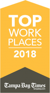 Top Work Places 2018 Tampa Bay Times