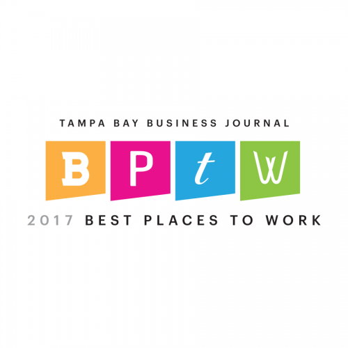 <i>Tampa Bay Business Journal<i/> Best Places to Work