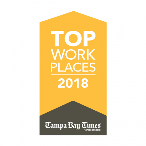 <i>Tampa Bay Times<i/>Top Places to Work