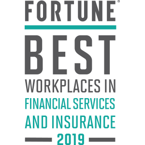 <i>Fortune</i> Best Workplaces in Finance & Insurance