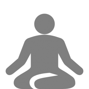 icon of a person doing yoga