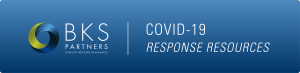 coronavirus covid-19 resonce resources banner with bks-partners logo