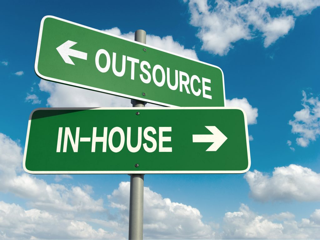 peo considerations road sign outsource or in-house